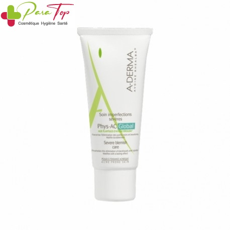 A-DERMA PHYS-AC GLOBAL SOIN IMPERFECTION SEVERES 40ML 008262