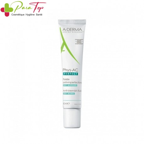 A-DERMA PHYS-AC PERFECT FLUIDE ANTI-IMPERFECTIONS 40 ML  008263