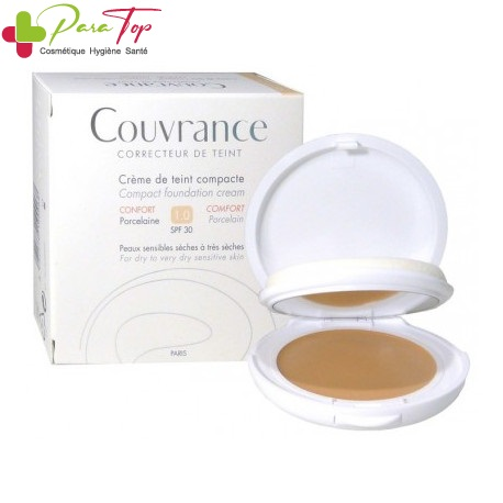Avene COUVRANCE Compact Confort – N1 Porcelaine, 9.5g