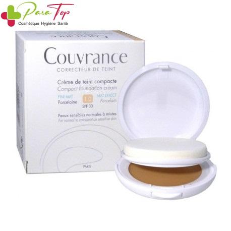 Avene COUVRANCE Compact Fini Mat – N1 Porcelaine, 9g