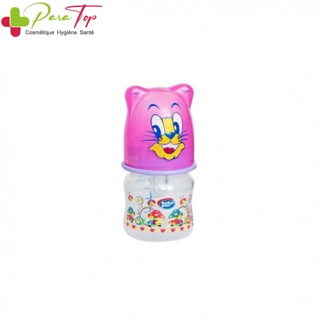 BABY PUR Micro-biberon avec couvercle amusant 60 ml