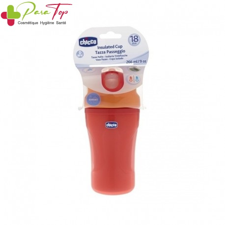 CHICCO Tasse Insulated, 18M+, RED