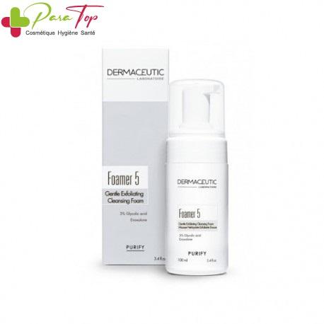 Dermaceutic Foamer 5 Mousse Nettoyante Exfoliante Douce, 100ml 002245