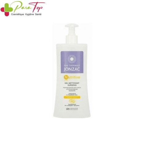Jonzac Nutritive gel nettoyant surgras, 400ml