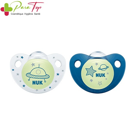 Nuk sucette night & day 6-18M