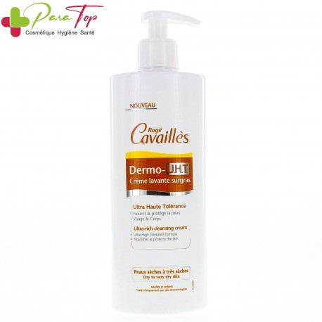 ROGE CAVAILLES Dermo-UHT Crème lavante surgras, 500 ml