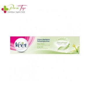 VEET crème dépilatoire peaux sèche (vert), 100 ml