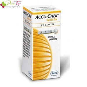 ACCU-CHEK® Softclix Lancettes, 25 lancettes