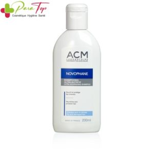 ACM Novophane Ultra-Nutritive Shampooing Cheveux secs, 200 ml