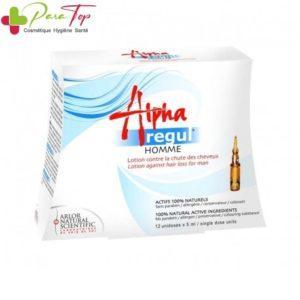 Alpharegul Lotion Anti-Chute pour Homme, 12 x 5 ml