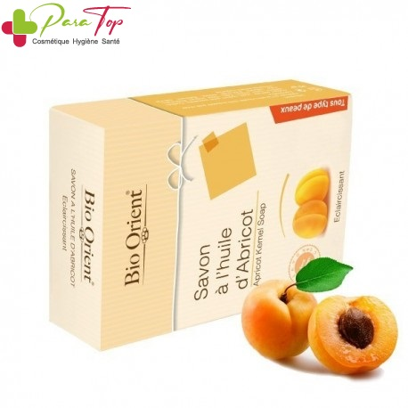 BIO ORIENT Savon à huile d'abricot anti-tache, 90g