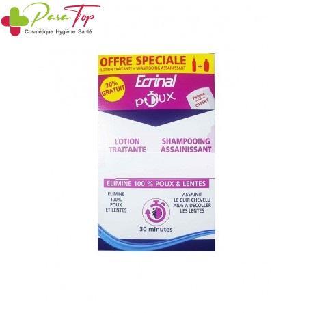 Ecrinal Pack anti-poux lotion+shampooing