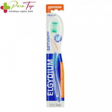 Elgydium Diffusion brosse à dents medium