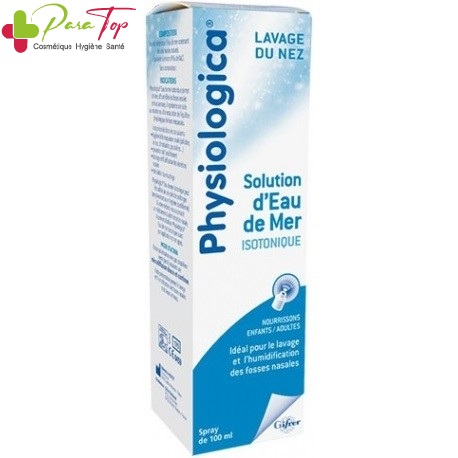GIFRER PHYSIOLOGICA SOLUTION EAU DE MER ISOTONIQUE 100ML