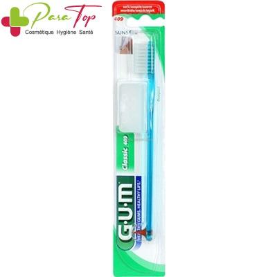 GUM Brosse à dents Classic Compact souple (409)