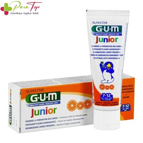 GUM Dentifrice Enfant 7 à 12 ans, 50ml