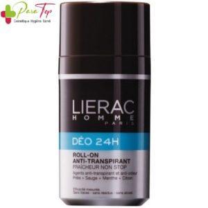 LIERAC HOMME DEODORANT 24H ROLL-ON ANTI-TRANSPIRANT 50ML