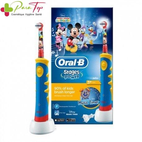 Oral-B Brosse à dent électrique pour enfant 'Stages Power' D10513K