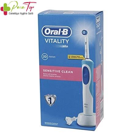 Oral B Brosse à dents électrique Vitality SENSITIVE CLEAN D12.513