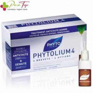 PHYTO Phytolium 4 Traitement Antichute homme, 12×3.5ml