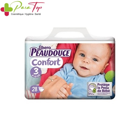 Peaudouce Confort 5-10 Kg Taille 3 , 28 unités