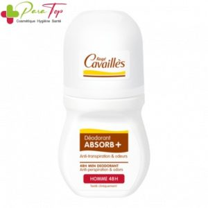 ROGE CAVAILLES Déo-soin Absorb+ Homme 48h, 50ml