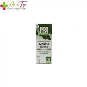 SO'BIO Huile essentielle menthe douce Bio, 10 ml