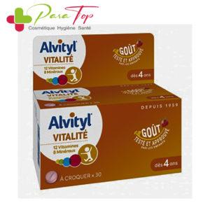 ALVITYL VITALITE A CROQUER GOUT FRAISE 30 COMPRIMES