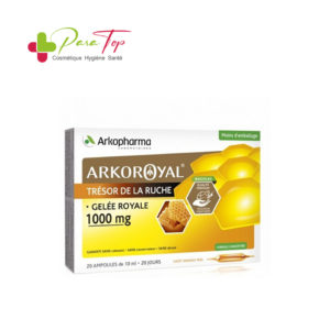 ARKOPHARMA Arkoroyal Gelée Royale 1000 mg, 20 ampoules