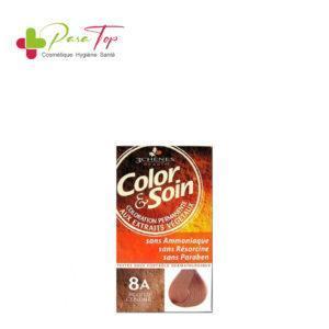 Color & Soin Coloration Blond Cendré 8A