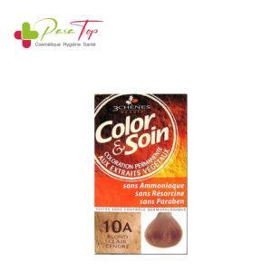 Color & Soin Coloration Blond Clair Cendré 10A