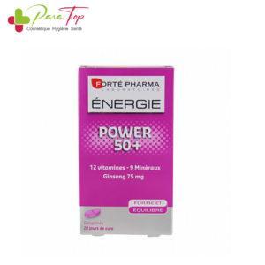 FORTE Pharma Energie Power 50+, 28 Comprimés