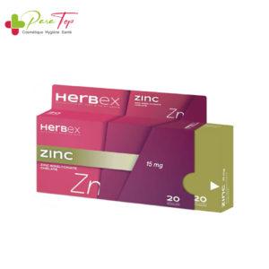 HERBEX Zinc 20gélules