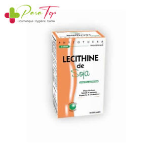 Phytothera LECITHINE de SOJA, 45 gélules